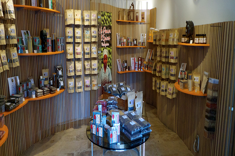 Agencement de magasins réalisation claustra Kit Kurly location