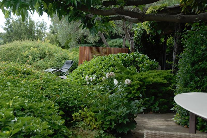 Claustra bois Jardin